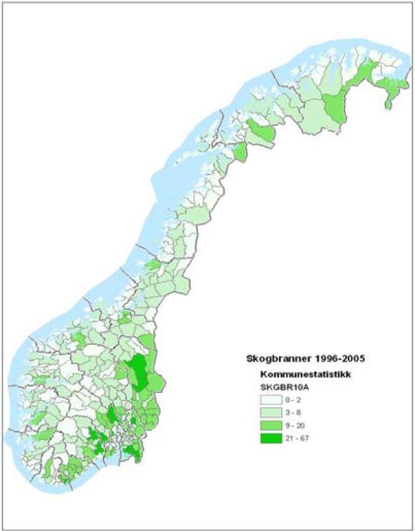 kart over skogbrannen i sverige Skogbranner – Ansvar og roller   Direktoratet for  kart over skogbrannen i sverige
